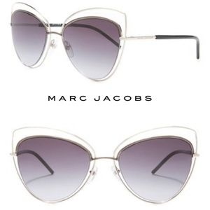 Marc Jacobs Oversize 56mm Cat Eye Sunglasses 8/s